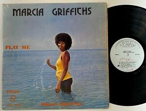 "Marcia Griffiths ""Sweet And Nice"" Reggae LP Wild Flower"