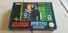 ♕* Super Nintendo * Syndicate * RARE * PAL FAH * SNES * Super Smash TV *