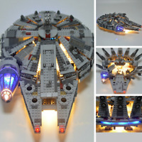 LED Beleuchtung Light Kit Für LEGO 75105 Millennium Falcon Star War Toy Lighting
