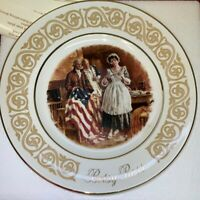 Vtg. AVON 1983 BETSY ROSS Collectors Plate Enoch Wedgwood
