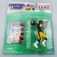 Kordell Stewart NFL Starting Lineup Figure & Card 1997 Pittsburgh Steelers SLU