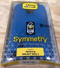 Otterbox Symmetry Series Hard Cover Case for  Samsung Galaxy Note 4  Blue Print