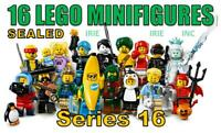 SERIES 16 Lego Minifigures FULL SET - SEALED ( complete new gift toy banana )