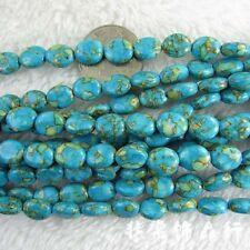 "Oval Imperial Jasper Beads Semi Precious Gemstone Beads for Jewelry Making 15"""