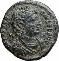 THEODOSIUS I the GREAT379AD Authentic Ancient Roman Coin Constantinopolis i80227