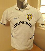 LEEDS UTD Football Shirt Trikot Retro Home 2002/03 Soccer Jersey Maillot Camisa