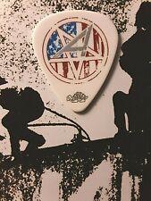 Anthrax Scott Ian red, white, blue star guitar pick