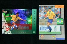 Brazil soccer trading cards World Cup 1994 Upper Deck 10 cards