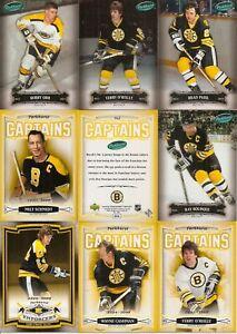 2006-07 Parkhurst Boston Bruins Complete Master Team Set (22)