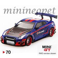 MINI GT 70 LIBERTY WALK LB WORKS NISMO NISSAN SKYLINE GT-R R35 1/64 INTERSPORT