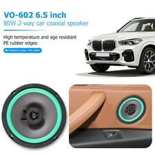 VO-602 6.5 Inch 80W 2 Way 12V Car Coaxial Speaker Auto Audio Music Loudspeaker
