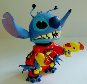 """Disney Lilo And Stitch Hasbro Talking 8.5"""" Stitch Figure with Water Squirt"""