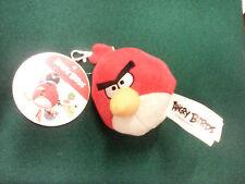 PELUCHE Plush CLIP portachiavi  keyring ANGRY BIRDS Red 7cm