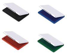 Stempelkissen Getränkt Schwarz, Blau, Rot oder Grün