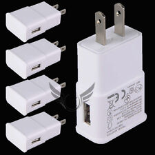 Lot 5 USB Power Adapter AC Home Wall Charger Fr Samsung Galaxy S6 Edge/S5/Note 3