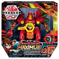 Bakugan DRAGONOID MAXIMUS Transforming Figure (with Lights and Sounds) Toy