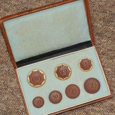 NOTGELD: 20 Pfennig bis 20 Mark 1920! Porzellan, Meissen. SACHSEN - KOMPLETT.