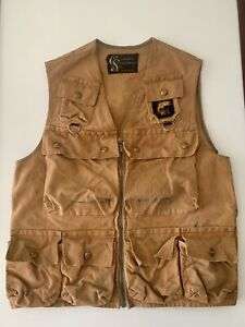 Vintage 1960's Columbia Sportswear Canvas Fly Fishing Vest