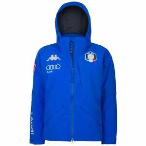 KAPPA 6CENTO 611 FISI Ski Jacket Mid Man - Giacca Sci Uomo BLUE 304KGA0 956