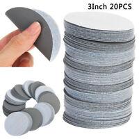 3-Inch Hook & Loop Discs No-Hole Sanding Assortment &amp Film Wet/Dry Sandpaper