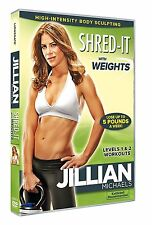 JILLIAN MICHAELS - SHRED IT WITH WEIGHTS - DVD - REGION 2 UK