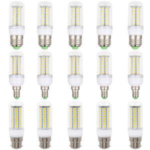 5Pcs 5W-25W LED Corn Light Bulbs E27 E14 B22 G9 GU10 220V Ampoule Bedroom Lamps