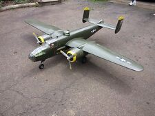 Giant échelle 1/8 b25 B-25 Mitchell Scratch Build r/c Avion Plans & motifs 118""