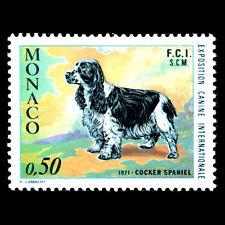 Monaco 1971 - International Dog Show Animals - Sc 810 MNH