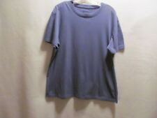 Perry Ellis Portfolio Men`s blue short sleeve shirt, XL