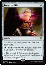 MTG Magic C17 - Staff of Nin/Bâton de Nin, French/VF