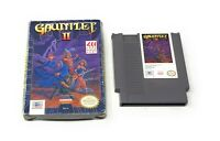 Gauntlet 2 II (Nintendo NES) With Box Missing Manual FREE SHIPPING!!!