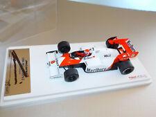 "1:43 TSM ""signed series"" McLaren MP4/2 Worldchamp 1984 N. Lauda, only 999 pc.!"