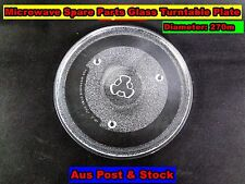 Microwave Oven Glass Turntable Plate Platter 270 mm Suits Many Brand NEW (A111)