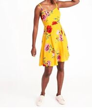 Old Navy Floral Fit & Flare Cami Dress for Women New XS-XL