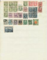 JAPAN: OVER 500 STAMPS ON HOMEMADE STOCK PAGES. ALL HINGE-MOUNTED