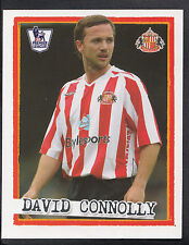 Merlin Football Sticker - Kick Off 2007-08 -No 195 - Sunderland - David Connolly