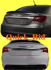 2011-2014 CHRYSLER 200 4D FACTORY STYLE SPOILER REAR TRUNK WING - Painted