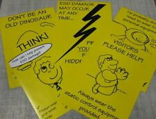 ESD Awareness Posters - set of 5    420MM x 592MM