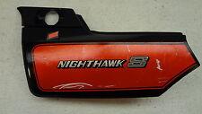 1984 Honda Nighthawk S CB700SC CB700 H741' left side cover trim body panel #1