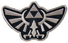 Legend of Zelda - Silber - Hyrule's Royal Crest - Uniform Patch Aufnäher - neu