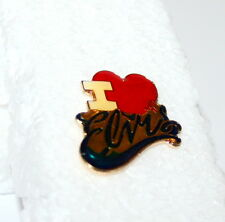 Vintage I Love Elvis Music Group Rock Band Pin Button 1980s New NOS