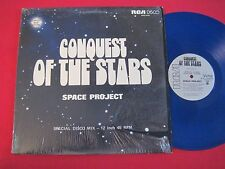 """DISCO MIX 12"""" CONQUEST OF THE STARS - SPACE PROJECT (1977) RCA DISCO BLUE NM"""