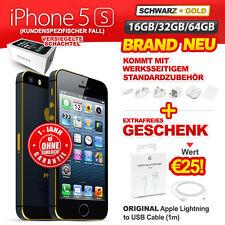 Brand Neu Versiegelt Ohne Simlock Apple iPhone 5S 16GB 32GB 64GB Schwarz Gold