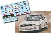 Decal 1:43 Mathias Moosleitner - BMW M3 - Rally El Corte Ingles 1990