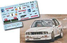 Decal 1:43 Mathias Moosleitner - BMW M3 - Rally El Corte Ingles 1990