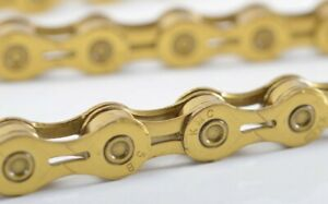 KMC X11EL Road Mountain Cycling Bike Chains for Shimano/Campy/Sram 116L Gold