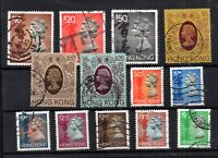 Hong Kong QEII High Value fine used collection WS16197