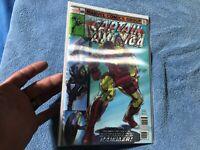 IRON MAN 126 CAPTAIN AMERICA 695 Lenticular Walmart exclusive Marvel comic book