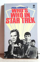 1988 Who's Who in Star Trek Reference Book w Photos- 110 Pages- UNREAD