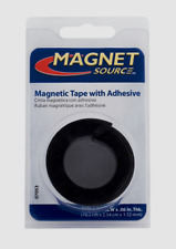 "Magnet Source MAGNETIC TAPE w/ Adhesive Flexible Craft Magnet 0.5"" x 30"" L 07011"